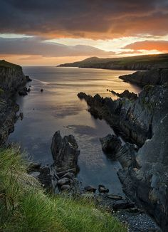 The Sheep's Head peninsula in West Cork, Ireland <3