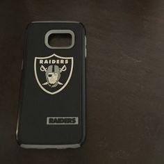 Raiders phone case for Samsung 6 Used raiders cell phone case for Samsung 6. Accessories Phone Cases
