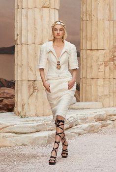 As deusas gregas da Chanel - Desfiles - Máxima