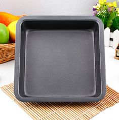 8Inch Square Non Stick Baking Cake Pans >>> Continue to the product at the image link.(This is an Amazon affiliate link and I receive a commission for the sales) #CakePans