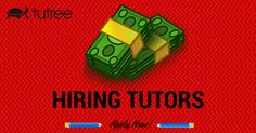 Tutree offers you excellent part-time tutoring jobs and summer jobs that provide enough money to pay for your weekly bills when going to college.