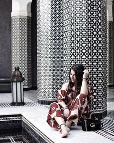 Dear summer (aka Marrakech), i miss you! #SelmanMarrakesh #marrakech #marrakesh #travel #girlsgoneloavies #gucci #ootd #instagood…