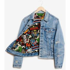 Runwaydreamz Rwdz X Marvel Iron Man X Padded Jacket by Levis (AUD ❤ . - Runwaydreamz Rwdz X Marvel Iron Man X Padded jacket by Levis (AUD ❤ likes … – # - Marvel Fashion, Nerd Fashion, Fandom Fashion, Fashion Outfits, Grunge Outfits, Marvel Mode, Moda Marvel, Marvel Comics, Nerd Mode