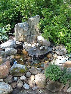 ~*~30 Beautiful Backyard Ponds And Water Garden Ideas