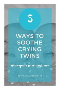 How to calm crying twins. Ways to soothe twin babies. 5 ways to settle twins. Twin Mom, Twin Babies, Newborn Twins, Twins Schedule, Baby Checklist, Expecting Twins, Bed Wetting, Behavior Modification, Feeling Frustrated