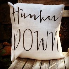 New Burlap Pillows at www.theblushingapple.com! Go dawgs!