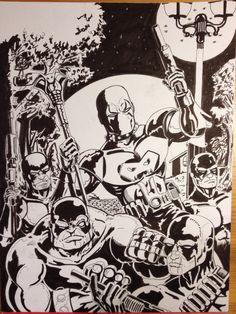 Villains Art Of Dan, Comic Art, Cartoon, Comics, Cartoons, Comic, Comics And Cartoons, Comics And Cartoons, Comic Books