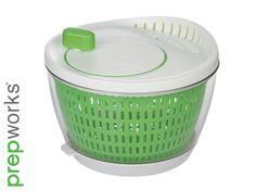 Progressive Flow-Through Salad Spinner Kitchen Necessities, Salad Spinner, Flow, Invitations, Entertaining, Make It Yourself, Ocd, Kitchen Stuff, Catcher