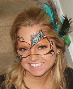 Don't Have a Costume? Paint Your Face! at LuLus.com!