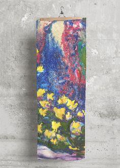 Cupro Skirt - Watercolor Space Paint by VIDA VIDA Sale Excellent EyeoEP