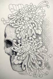 Bildergebnis für chrysantheme brust tattoo