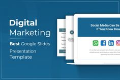 Digital Marketing Google Slides Presentation Template reduces your work by supplying templates designed with busy entrepreneurs in mind. With 246 fully editable slides, the Pitch Deck Bundle provides you with the template you need to deliver...