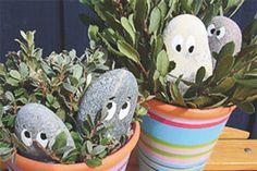 Påske-gemme-pip til krukker i haven...