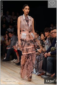 """THE RANITARY"" - FASH14GRADUATE SHOWCASE by APIYARNAN JONGPAKDEE <thew-api@hotmail.com> #thesis #showcase #youngdesigner #fashion #fashiondesign #bangkok #thailand #natural #colour #batik #military #india #camouflage #shibori #runway #model #asia #student #project #Tiedye #dye"