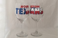 Hey, I found this really awesome Etsy listing at https://www.etsy.com/listing/281073616/houston-texans-football-hand-painted