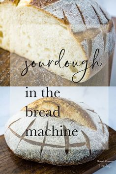 Looking for a true sourdough bread that doesn't need tons of babysitting? This one is kneaded right in your machine. Dutch Oven Sourdough Bread Recipe, Sourdough Bread Machine, Sourdough Pizza, Sourdough Recipes, Recipe Breadmaker, Bread Pizza, Artisan Bread Recipes, Bread Maker Recipes, Starter Recipes