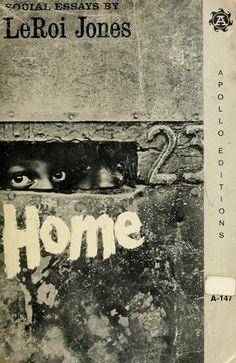 social essays leroi jones Achetez et téléchargez ebook home: social essays: boutique kindle - african-american studies : amazonfr.