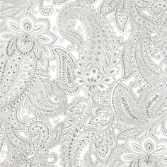 understated and beautiful: paisley by moda #paisley #cotton #fabric
