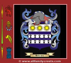 Nickerson Family Crest Coat Of Arms Family Crest Arms