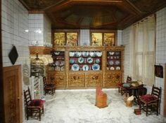 Petronella Oortman's Dollhouse, on display at the Rijksmuseum in Amsterdam