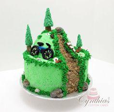 mountain biking birthday cakes - Google Search