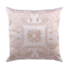 Frette Gently Ricamo Euro Cushion