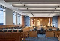 federal courtroom interior design - Google Search