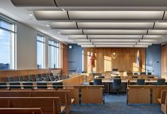 federal courtroom interior design - Google Search