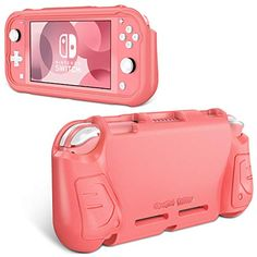 Fintie Case for Nintendo Switch Lite 2019 - Kids Friendly [Ultralight] [Shockproof] Anti-Scratch Protective Cover w/E... Nintendo Switch Accessories, Tech Accessories, Kawaii Games, Game Storage, Original Nintendo, Nintendo Ds Lite, Cute Games, Video Game Console, Nintendo Consoles
