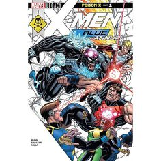 X-Men Blue (2017-) Annual #1 Written by Cullen Bunn Art by Edgar Salazar Cover by Nick Bradshaw THE CROSSOVER BETWEEN VENOM AND X-MEN BLUE STARTS HERE! Spinning out of the events of Venomverse the Children of the Atom and the Lethal Protector team up to take down an extradimensional threat! This is it folks the team-up you've been asking for: X-MEN BLUE and VENOM must band together in the cold reaches of space to protect our universe from a threat more diabolical than you can imagine. But…