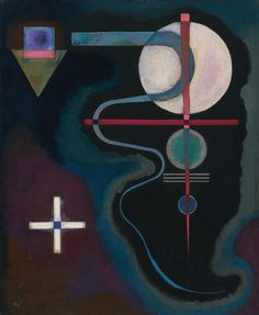 Wassily Kandinsky (Russian, 1866-1944), KÜHLE ENERGIE [COOL ENERGY], 1926. Oil on canvas, 28 ¾ by 23 3/8 in. (73 by 60 cm)