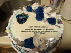Ravenclaw birthday cake :)