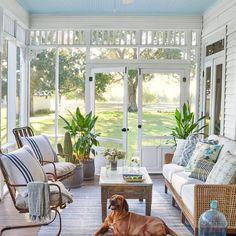 Double Doors for Screened Porch Screened Porch Doors, Screened In Porch Furniture, Screened Porch Designs, Outdoor Furniture Sets, Front Porch, Outdoor Spaces, Outdoor Living, Outdoor Decor, Outdoor Ideas