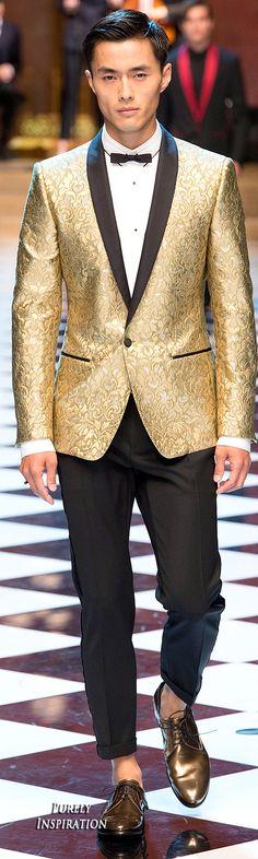 Dolce & Gabbana SS2017 Menswear   Purely Inspiration