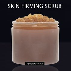 skin firming coffee scrub