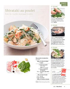 Shortcut - Shirataki au poulet Beef, Food, Asian Noodles, Chicken, Kitchens, Meat, Eten, Ox, Ground Beef
