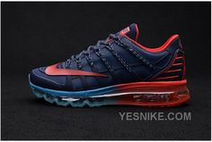 finest selection 23031 dacc5 Buy Latest Nike Air Max 2016 II Sneakers Nano TPU Material Deep Blue Red Mens  Running Shoes Online Sales from Reliable Latest Nike Air Max 2016 II  Sneakers ...
