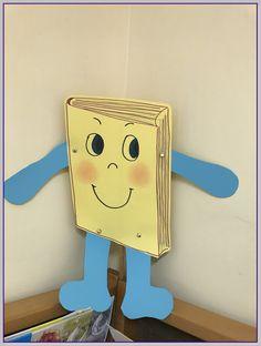 School Library Displays, School Projects, Classroom Decor, Decoration, Fairy Tales, Kindergarten, Reading, Paper, Books