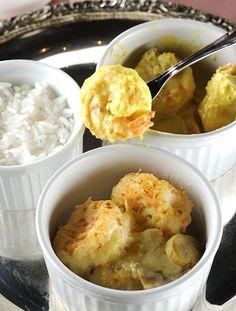 Camarão provençal e camarão à l'Indienne são dois pratos do restaurante La Paillote (Foto: Mauro Holanda / Divulgação)