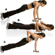 push/ pull core exercise