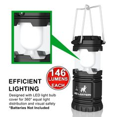 MalloMe LEDs Camping Lantern Flashlights 4 Pack - Super Bright - Portable Outdoor Lights (Multicolored) (Batteries not Included for 4 pack) Led Lantern Lights, Lantern Set, Best Camping Lantern, Camping Lanterns, Best Camping Gear, Camping Gifts, Hiking Gear, Tent Lighting, Camping Accessories