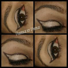 Black and White  makeup du jour #yeux #makeupeyes #eyes #brown #oeil #oeilbrun #oeilmarron #oeilphotography #yeuxdebiche #yeuxquibrillent #makeup #makeupaddict #makelovers #makelook #makeupgeek #maquillage #maquillagedujour #maquillagedesyeux #Blackandwhite #urbandecay #nakedbasic #eye #eyemakeup  #maquillage #yeux