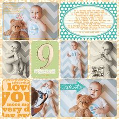 Jase's Baby Scrapbook - Krista Lund Photography San Francisco Bay Area Newborn, Maternity, Child and Family Photographer