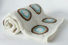 Handmade Newborn Blanket Baby Shower Gift    by karmaistanbul