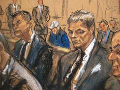See the 16 Most Bizarre Courtroom Sketches