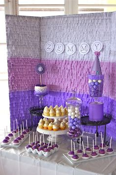 Living Eventfully: diy :: easy ruffle backdrop using crepe paper + glue stick + scissors Birthday Bash, Birthday Celebration, Birthday Parties, Birthday Backdrop, Birthday Ideas, Diy Party, Party Ideas, Event Ideas, Grad Parties