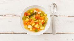Blitzschnelle Gemüsesuppe
