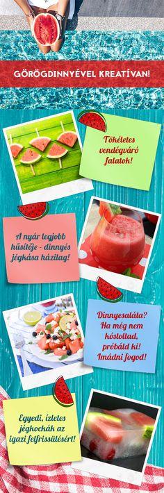 Szuper frissítő görögdinnyés ötletek! :)