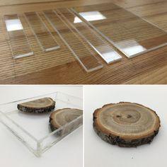 Quinn Z Shen: Glowing Wood Resin Jewelry