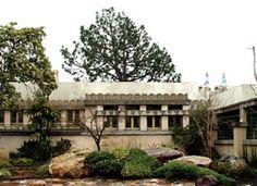 HollAline Barnsdall Hollyhock House, East Hollywood, California, 1919–1921. Frank Lloyd Wrightyhock House